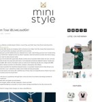 MINI STYLE BLOG FEATURE LIVE LOUD GIRL