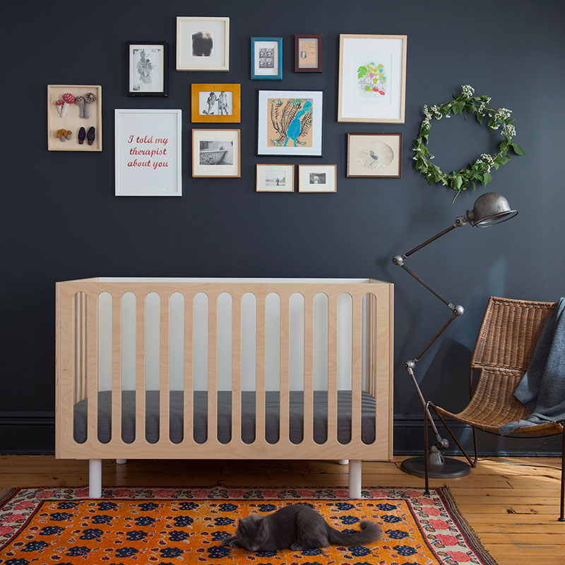 Fawn Crib from Oeuf NYC