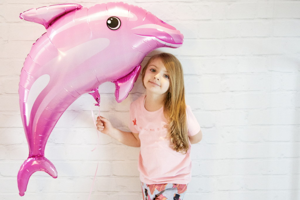 dolphins all over the place in brighteyez fashion lookbook shoot