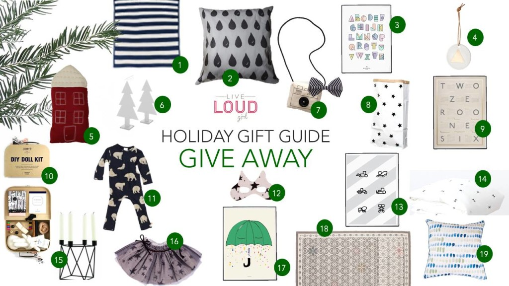 gift guide giveaway