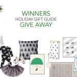 WINNERS OF THE GIFT GUIDE GIVEAWAY