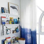 DIP DYE CURTAIN DIY