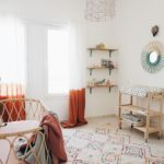 ROOMSTYLING: BOHO NURSERY WHITE MOSS DECOR