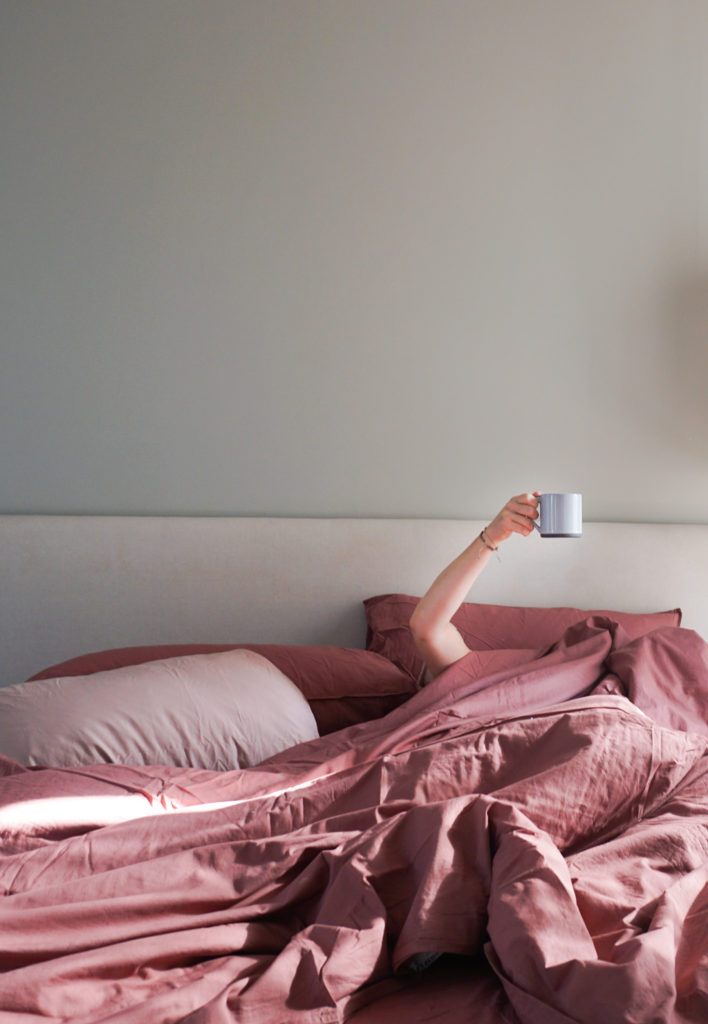 Not getting out of bed with Midnatt bedding